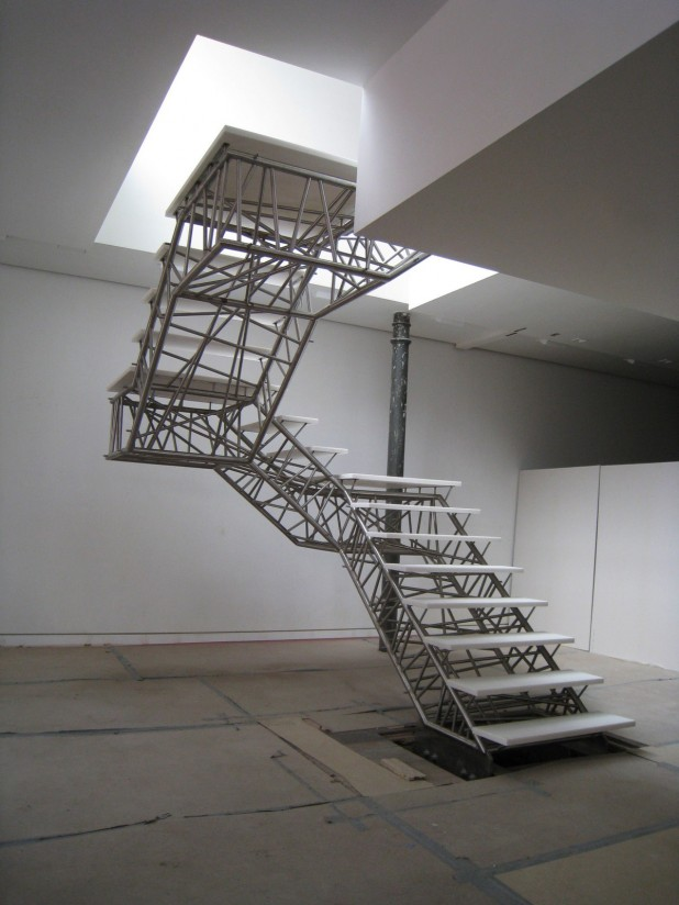 Genetic Stair installation