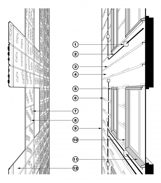 Nitehawk Facade detail drawings