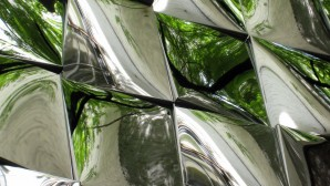Detail of polished panels